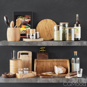 Kitchen Decorative Set 013