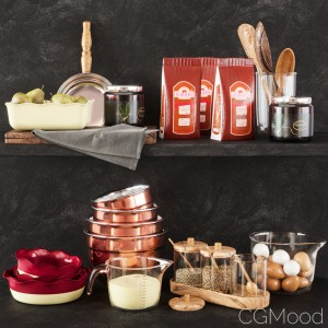 Kitchen Decorative Set 017