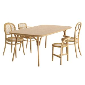 Thonet Tables And Chairs