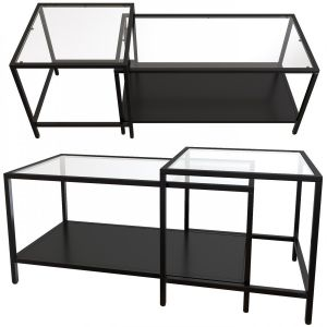 Ikea Vittsjo A Set Of Side, Serving, Coffee, Table