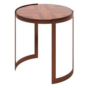 Fendi Anya Side Table (rosewood)