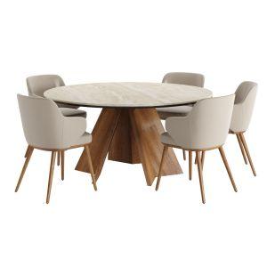Calligaris Icaro Table With Foyer Armchair