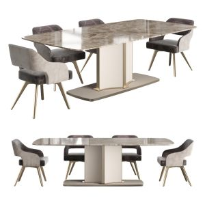 Cantori Voyage Table With Adria Chair