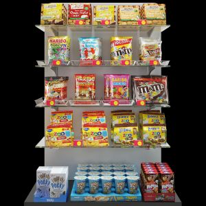 Snack Shelving Display