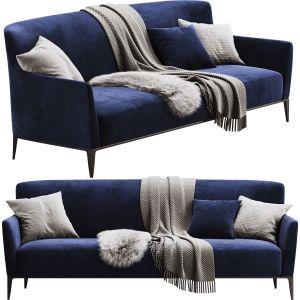 Poliform Gentleman Sofa 220 Cm