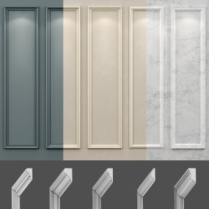 Wall Molding 18 Boiserie Classic Panels