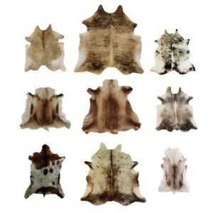 Nine Rugs From Animal Skins 10