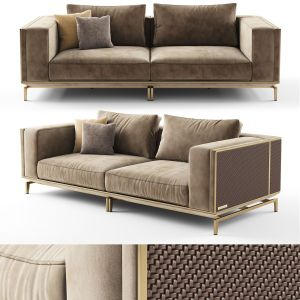 Visionnaire Backstage 2 Seater Sofa