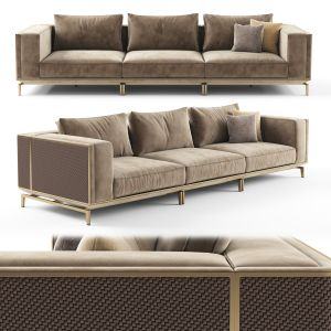 Visionnaire Backstage 3 Seater Sofa