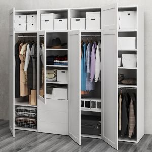 Ikea Wardrobe With 7 Doors And 3 Drawers Ophus