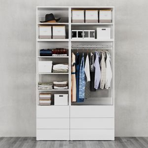 Ikea | Ophus Wardrobe With 6 Drawers