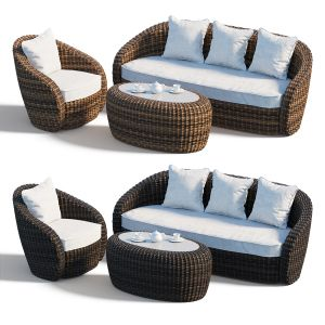 Garden Furniture Set Avela 4sis