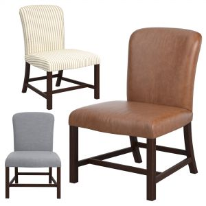 Rose Tarlow Chippendale Armless Chair
