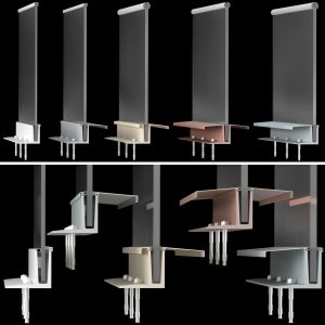 High-tech Style Glass Railings / Glass Railing Han