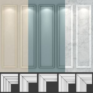 Wall Molding 19 Boiserie Classic Panels