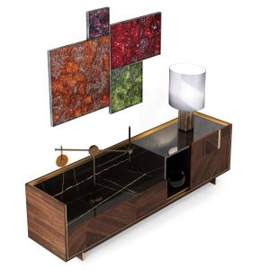 Visionnaire Horizon Lacquered Sideboard