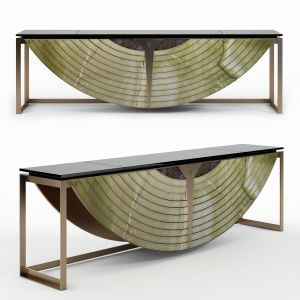 Visionnaire Equnox Marble Console Table