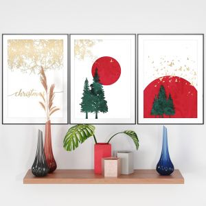 Decor Set No12- Christmas Decorative