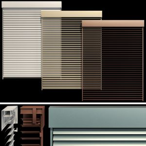 Metal Blinds Shutter For Windows And Doors