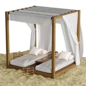 Beach Lounge Outdoor Set 2