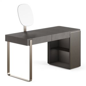 Fendi Icon Lady Desk (charcoal Fiddleback Sycamor)