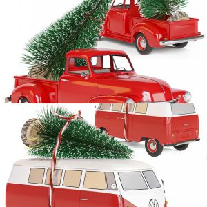 Christmas toy cars