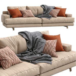 Marmont Leather Sofa By Papadatos