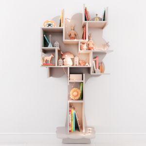 Shelf For Children's Room With Decor.