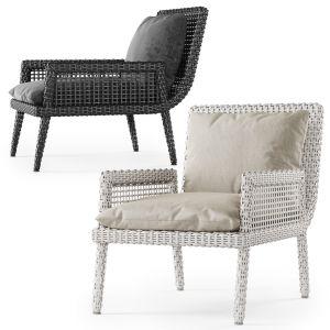 Rattan Lounge Chair Dr51