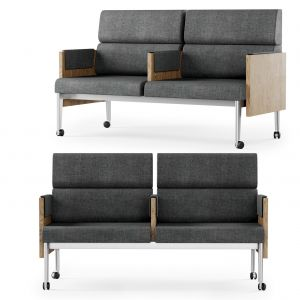 Gabriel Two-seater Lounge Chair